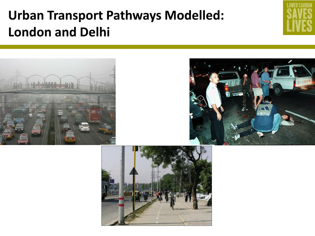 Urban Transport Pathways Modelled: