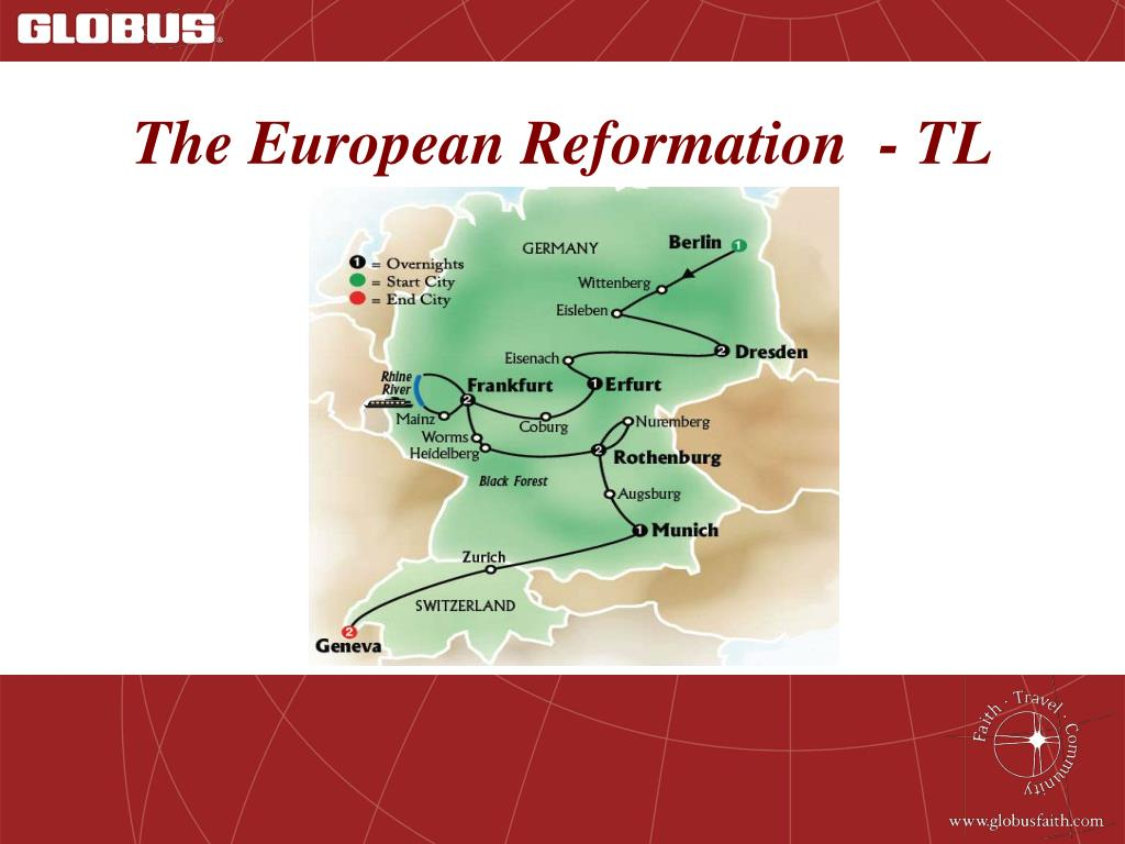 The European Reformation  - TL