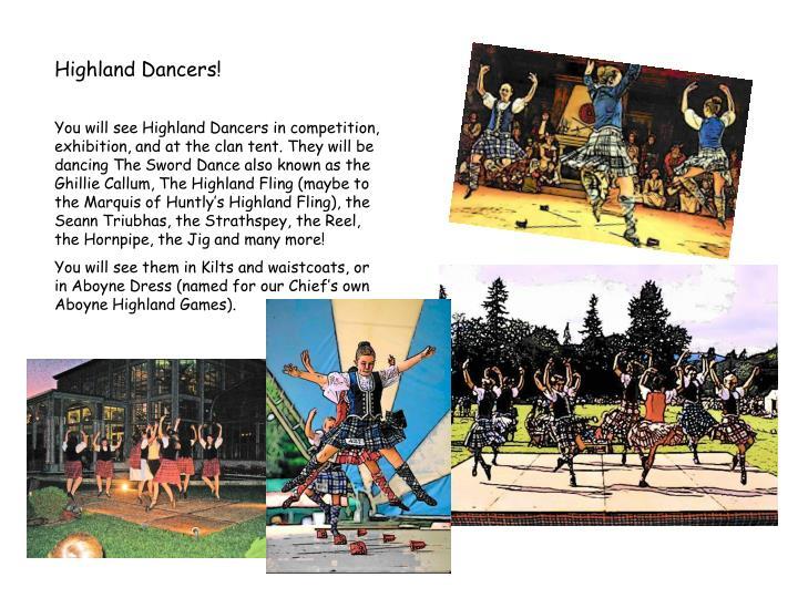 Highland Dancers!