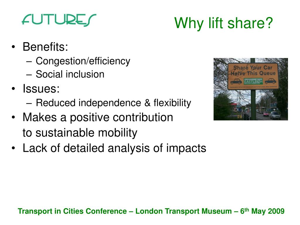 Why lift share?