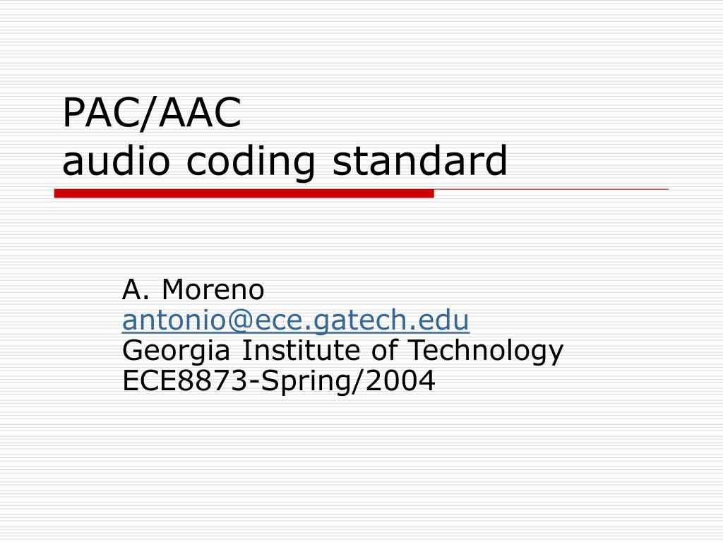 PAC/AAC
