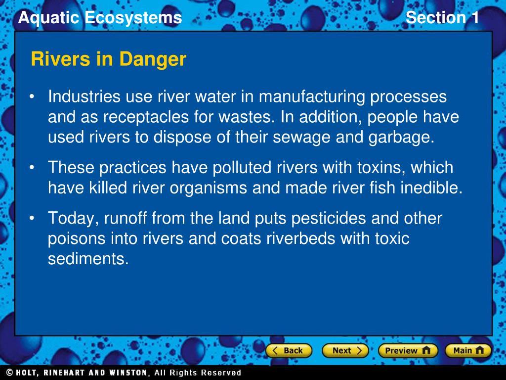 Rivers in Danger
