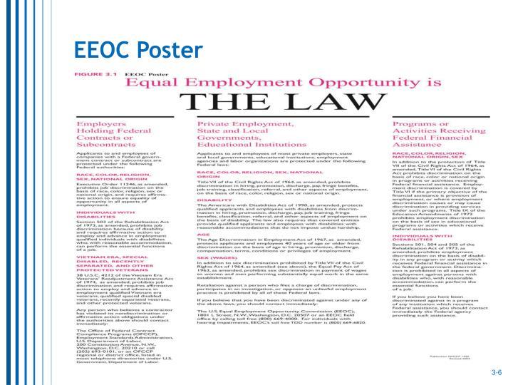 EEOC Poster