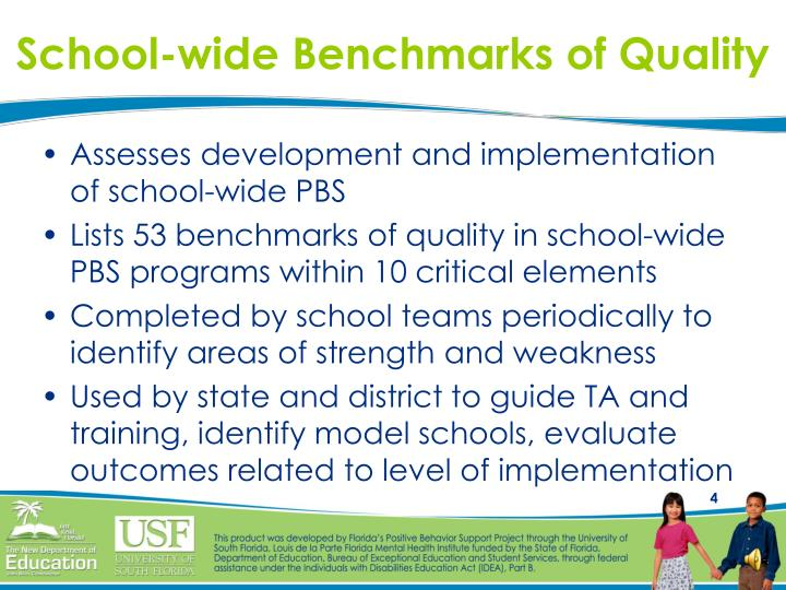 School-wide Benchmarks of Quality