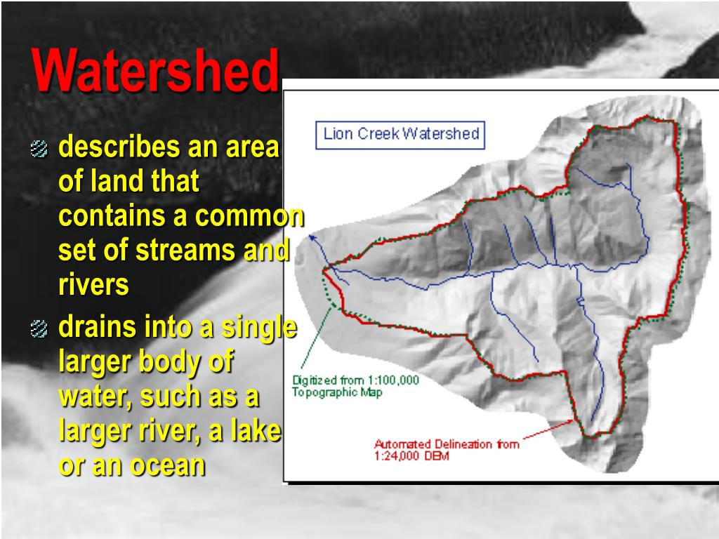 watershed delineation tobacco river