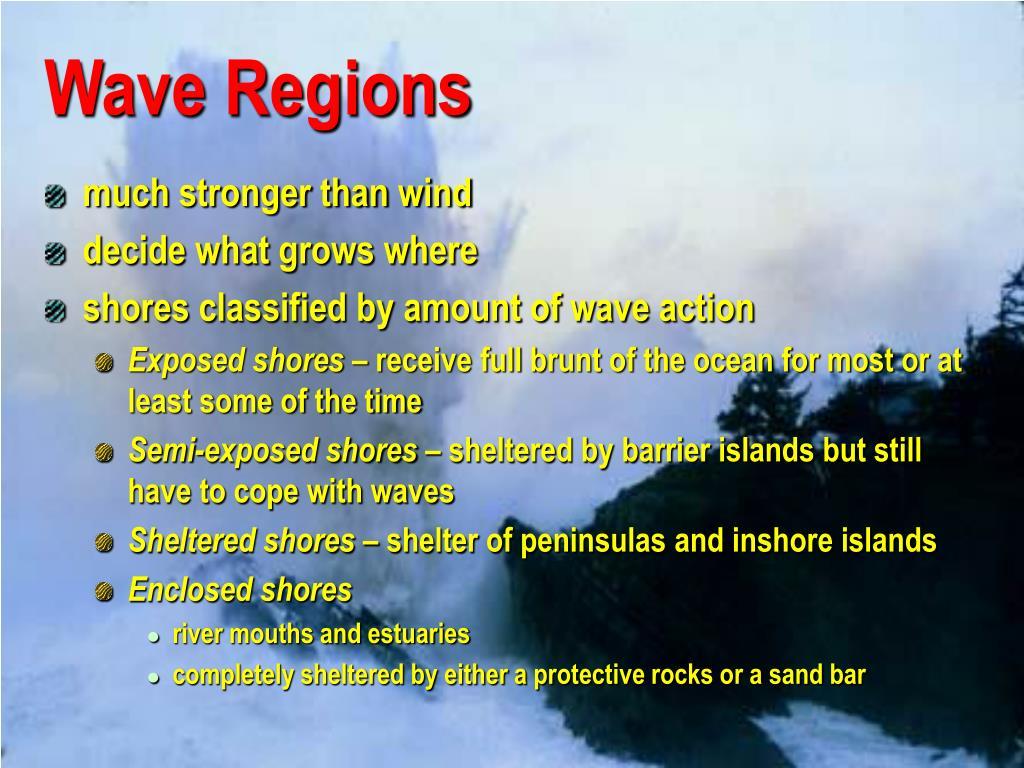 Wave Regions