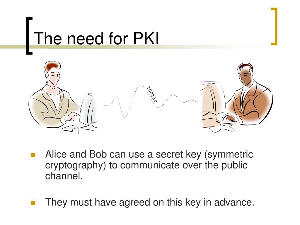 The need for PKI