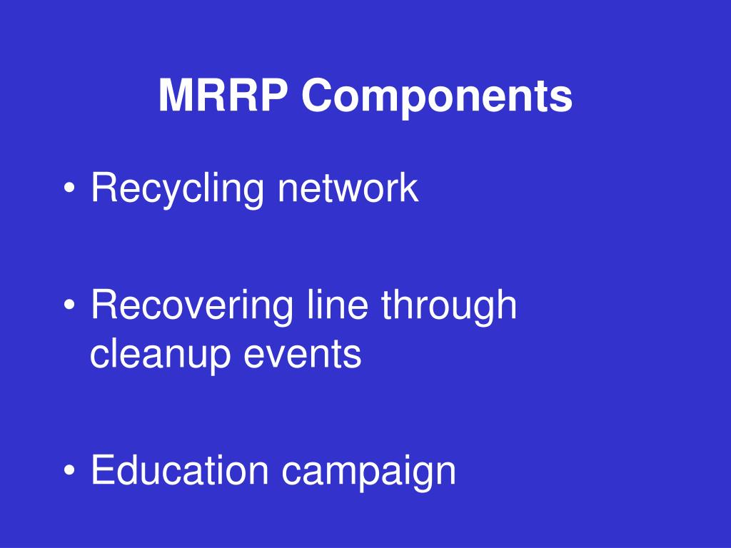 MRRP Components