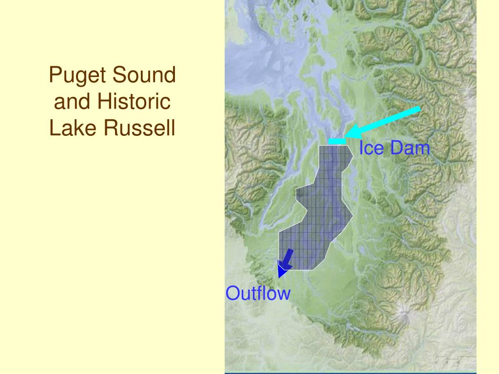 Puget Sound and Historic Lake Russell