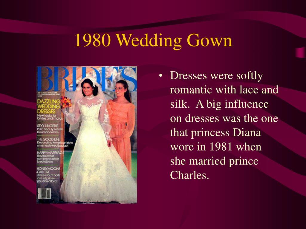 1980 Wedding Gown
