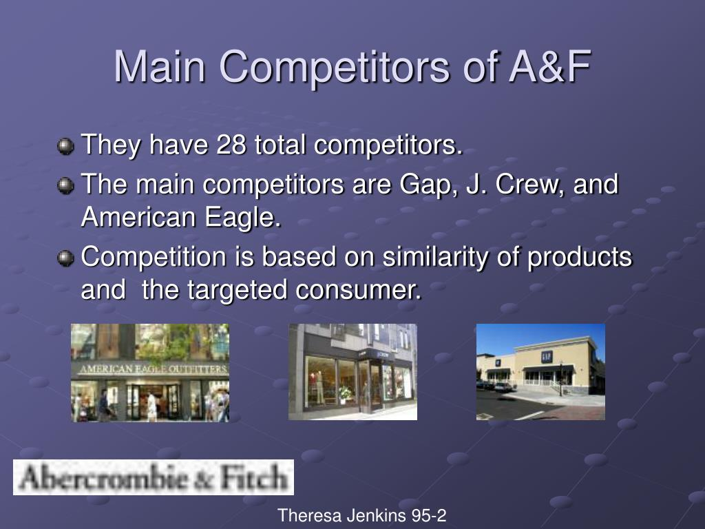 They have 28 total competitors.