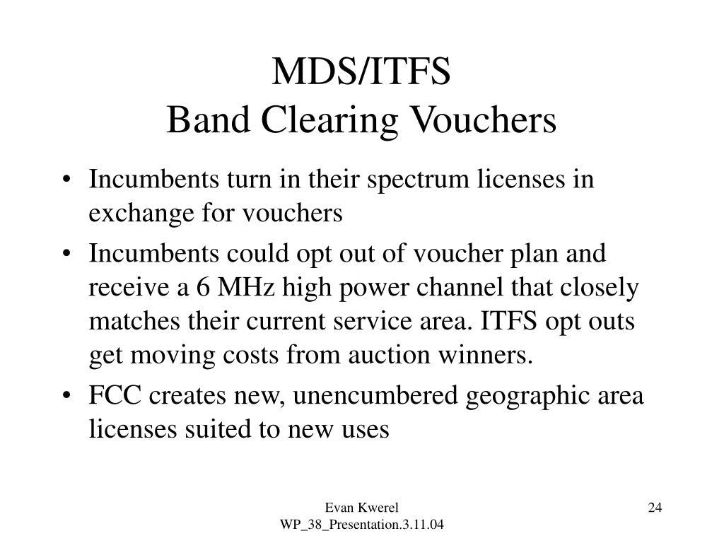 MDS/ITFS