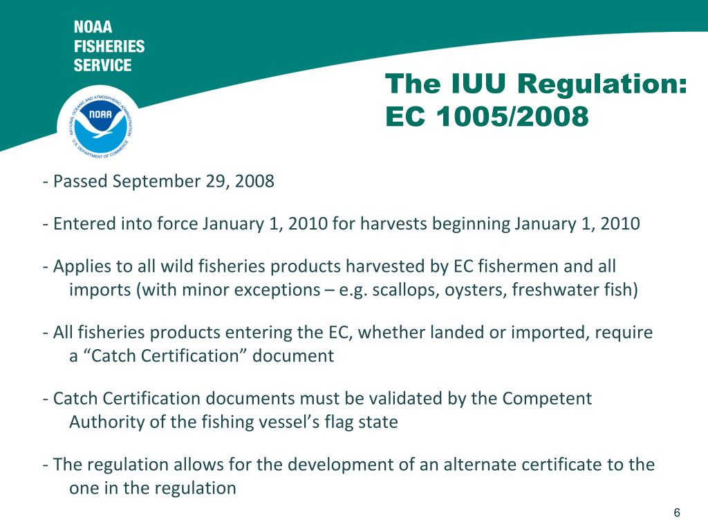 The IUU Regulation: