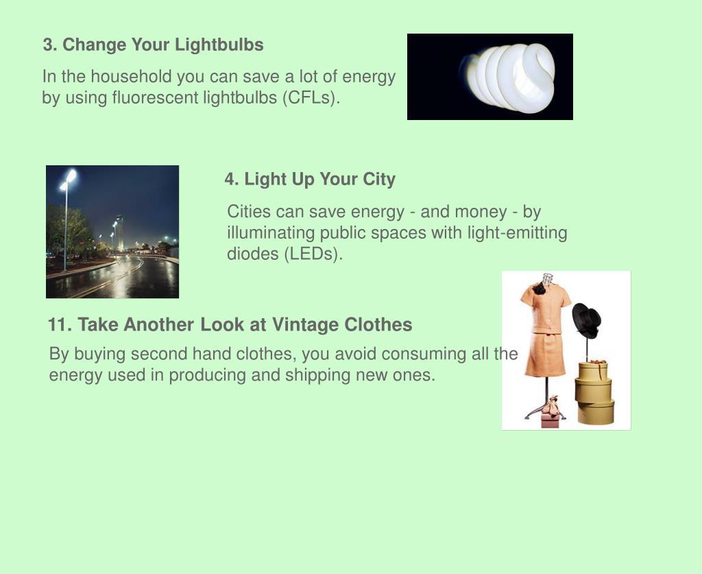 3. Change Your Lightbulbs