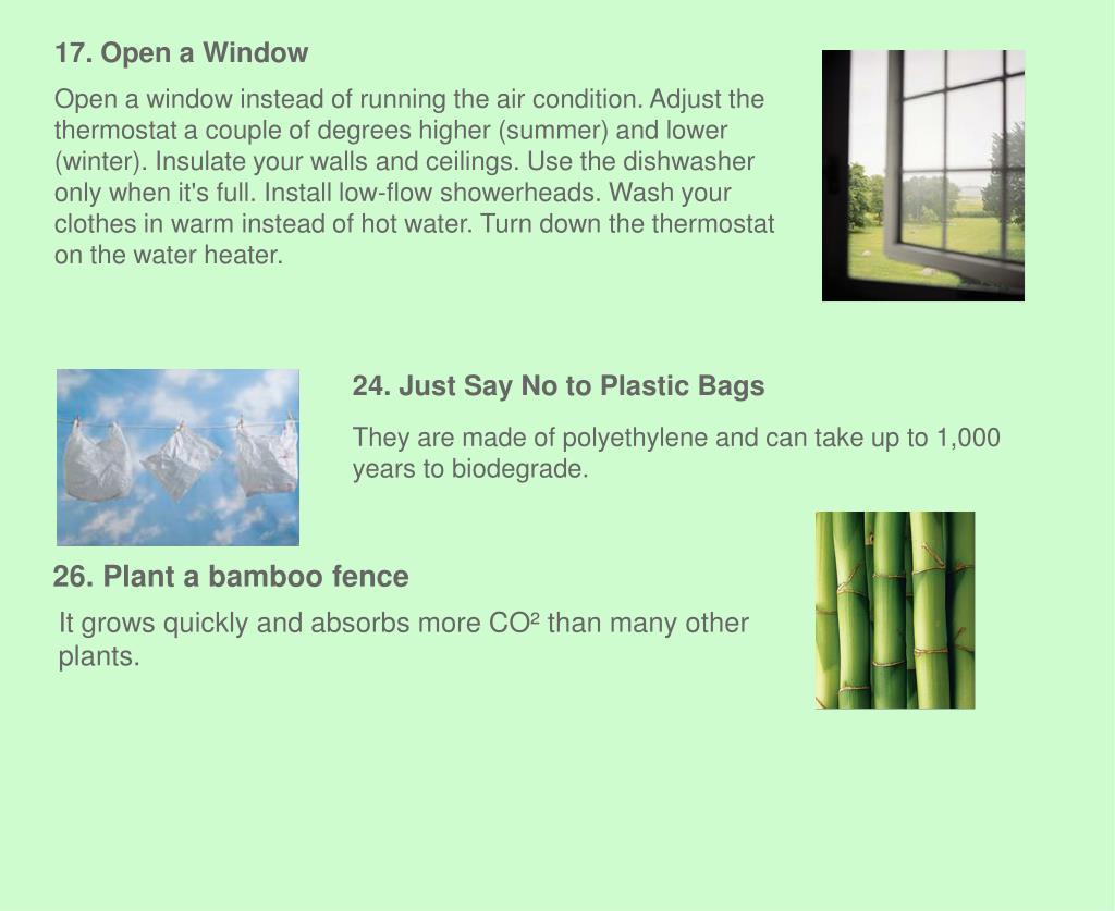 17. Open a Window