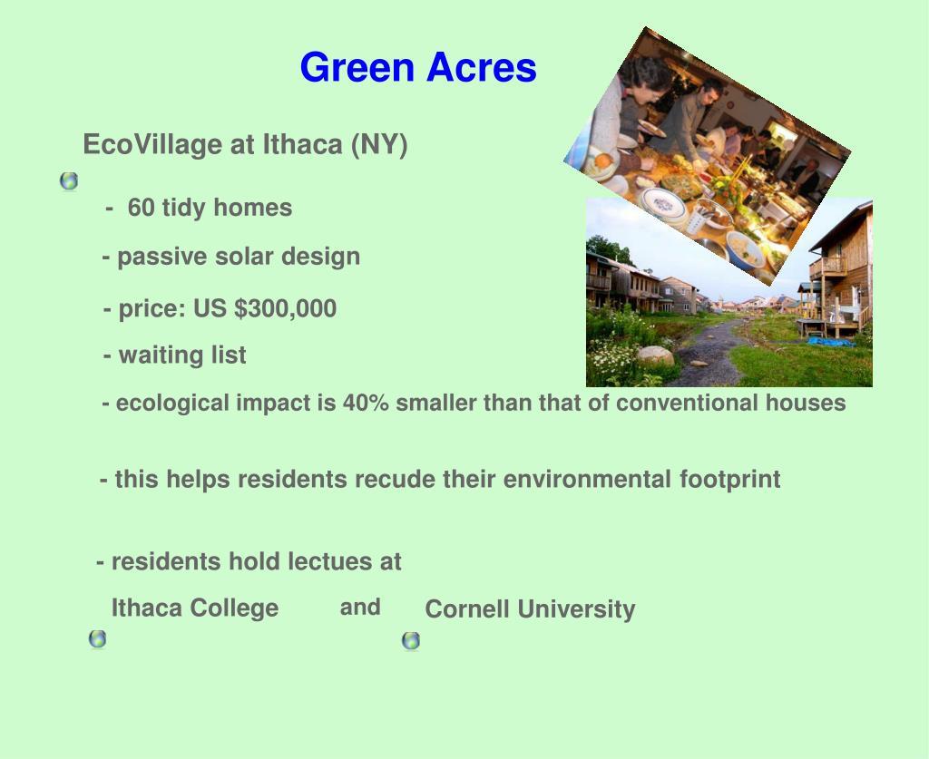EcoVillage at Ithaca (NY)