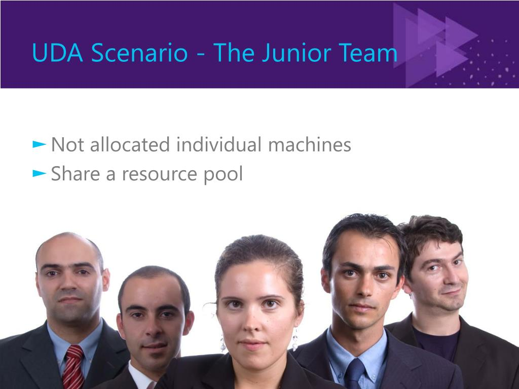 UDA Scenario - The Junior Team
