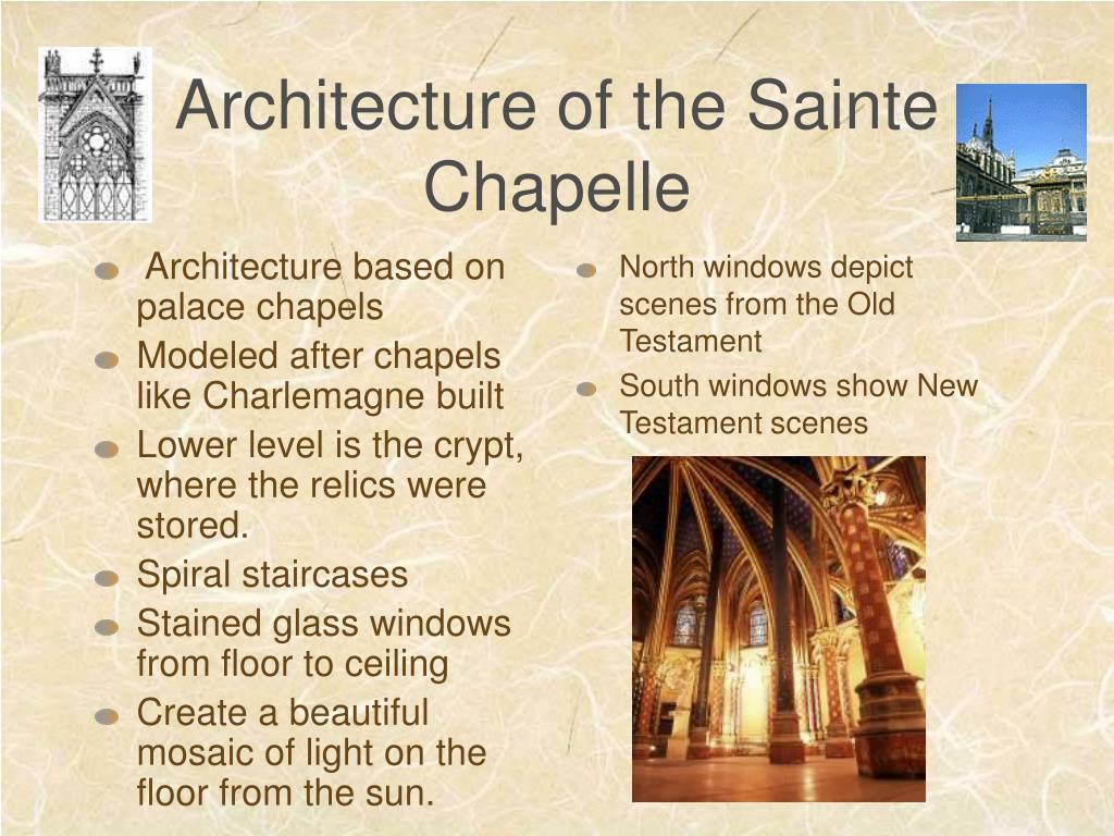 Architecture based on palace chapels