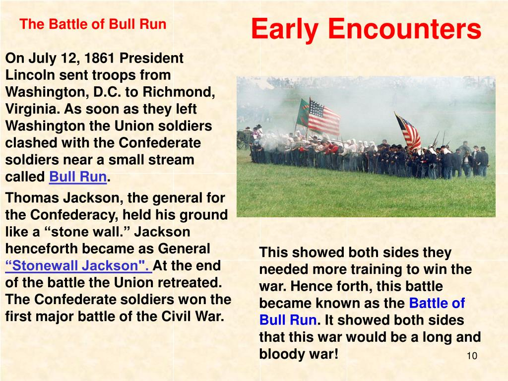 Early Encounters