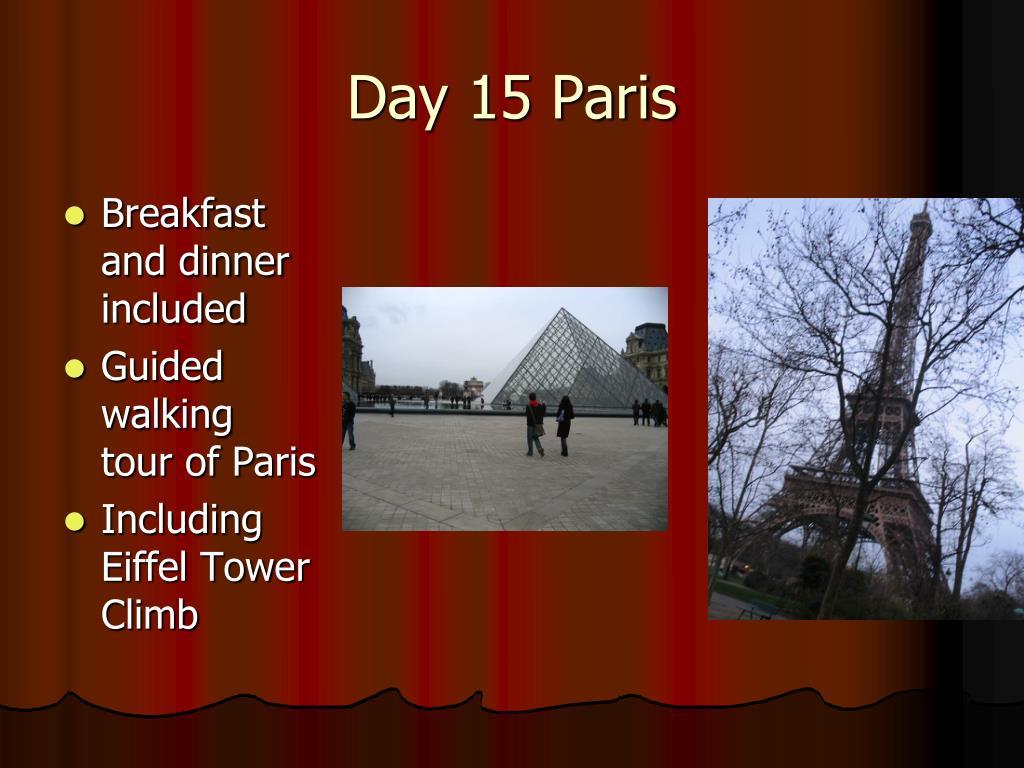 Day 15 Paris