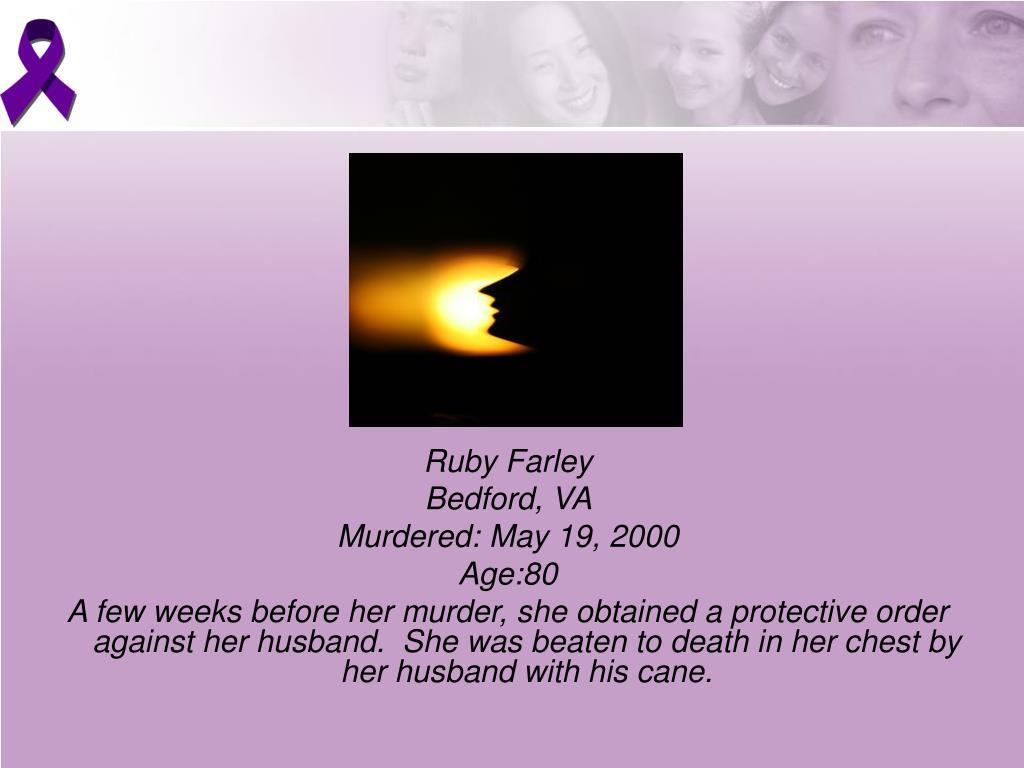 Ruby Farley