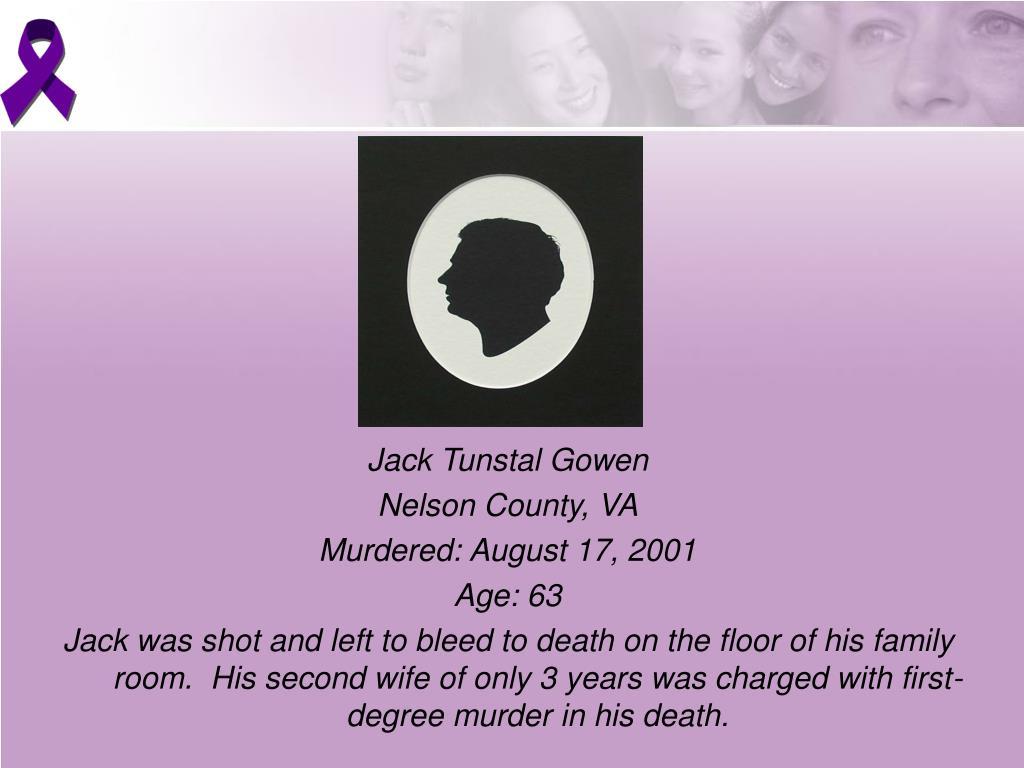 Jack Tunstal Gowen