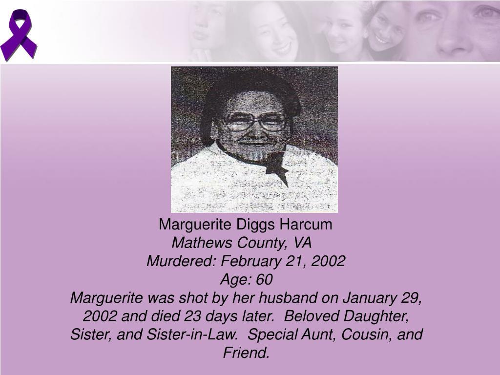 Marguerite Diggs Harcum