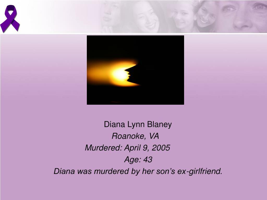 Diana Lynn Blaney