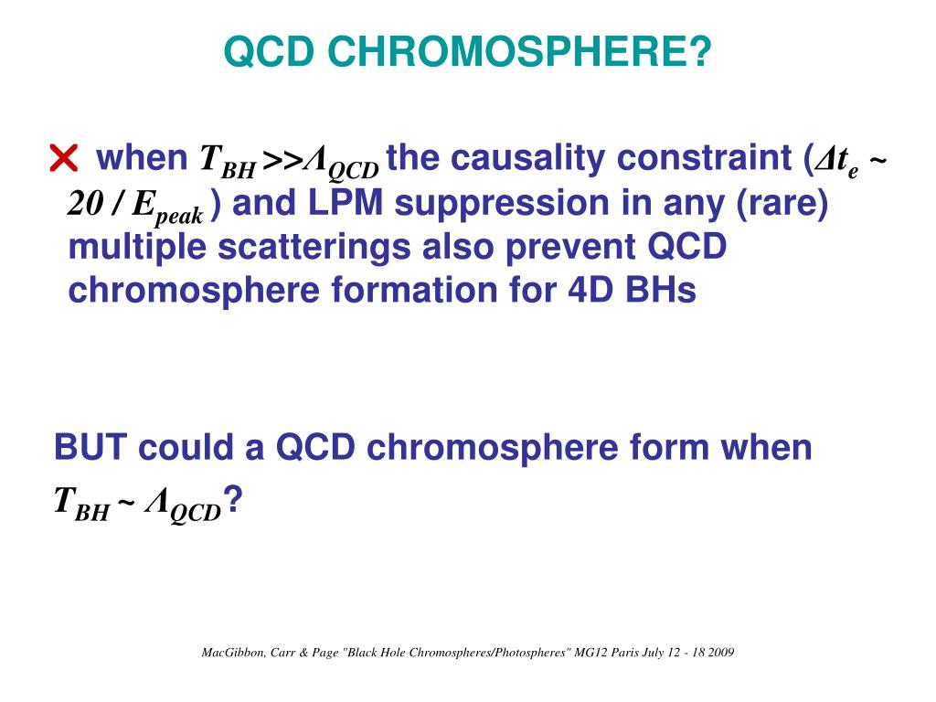 QCD CHROMOSPHERE?
