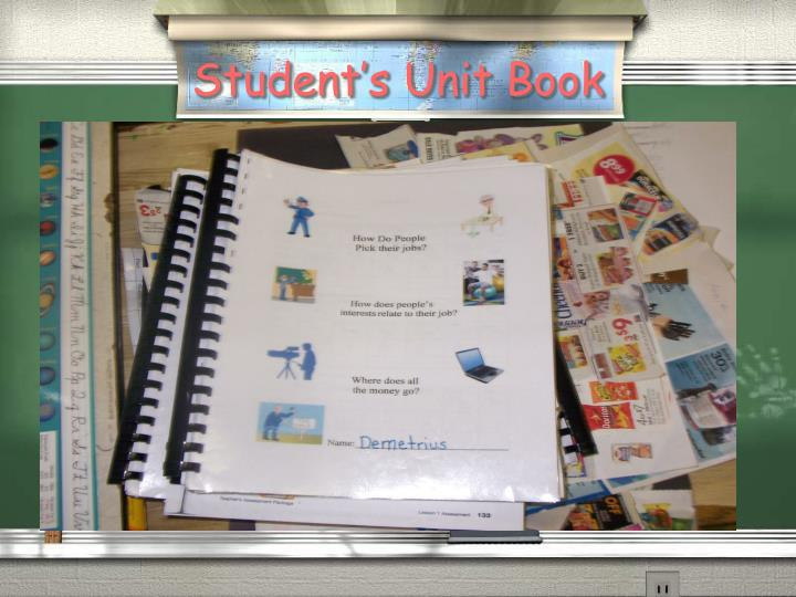 Student's Unit Book