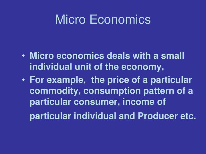microeconomics article