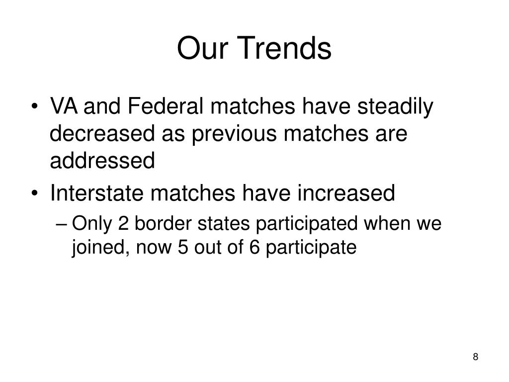 Our Trends