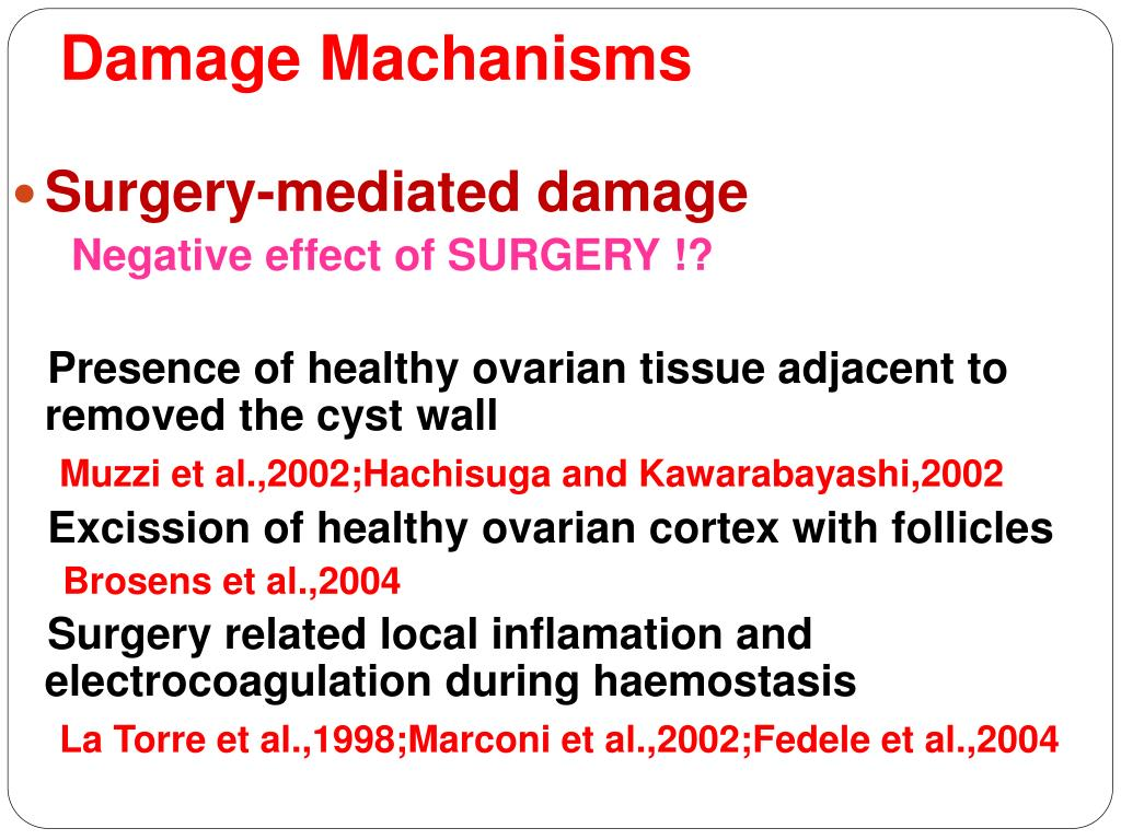 Damage Machanisms