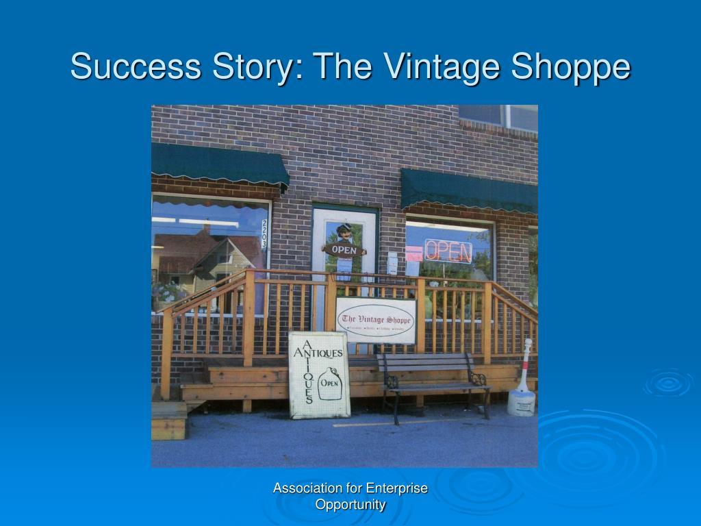 Success Story: The Vintage Shoppe