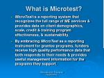 what is microtest52