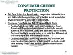 consumer credit protection42