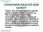 consumer health and safety