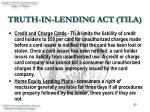 truth in lending act tila37