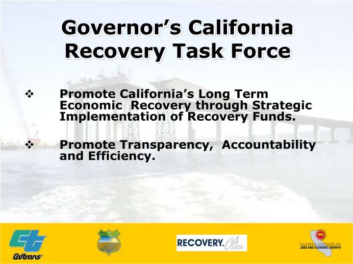 Governor's California