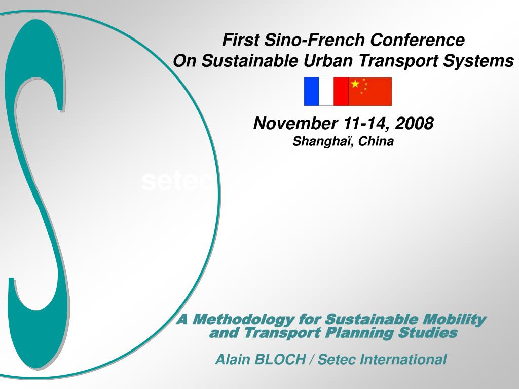 First Sino-French Conference