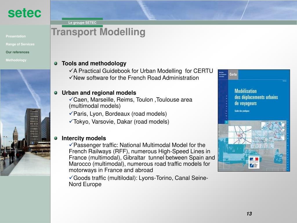 Transport Modelling