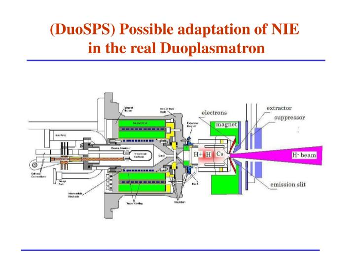 (DuoSPS) Possible adaptation of NIE