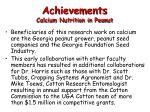 achievements calcium nutrition in peanut1