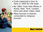 mass tourism30