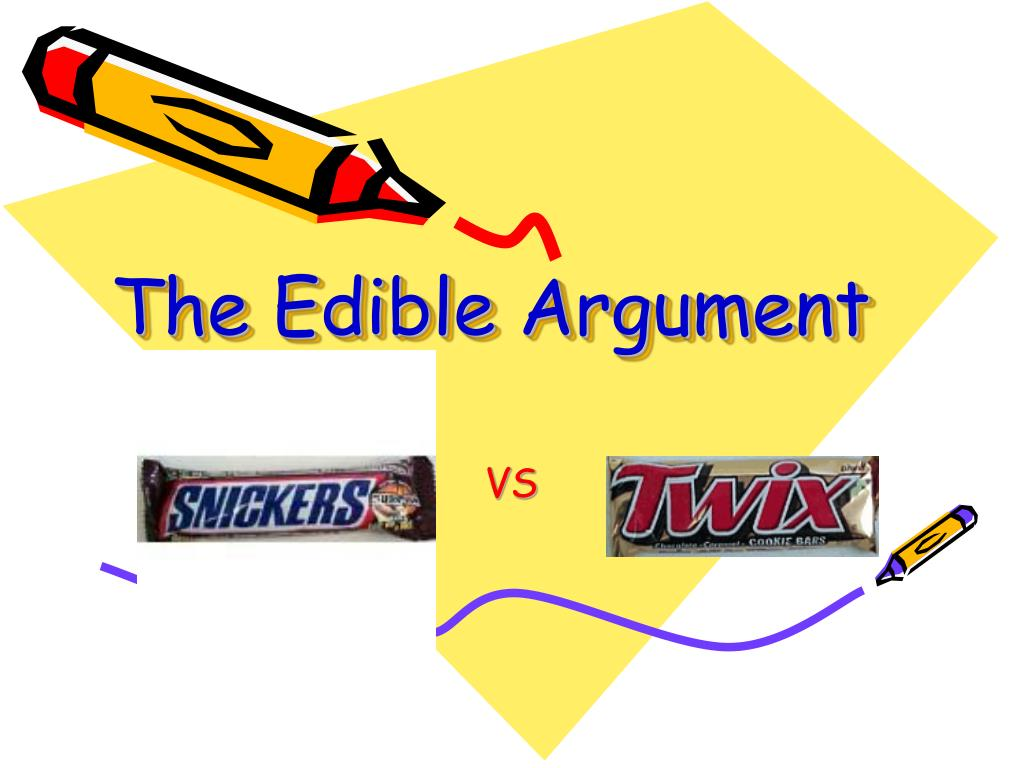 The Edible Argument