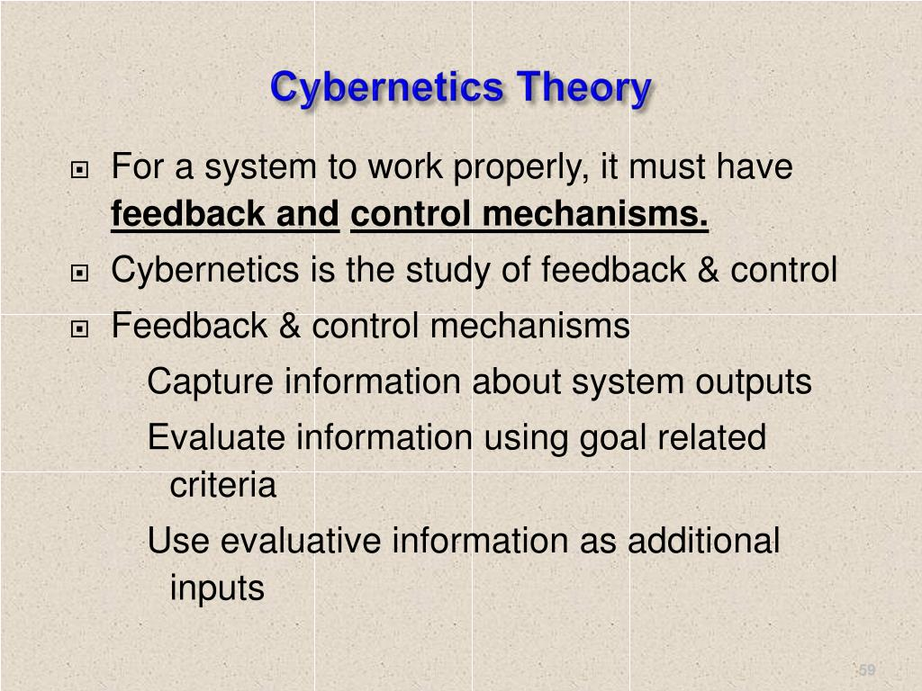 Cybernetics Theory