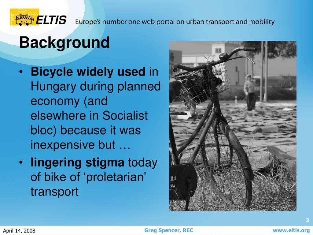 Bicycle widely used