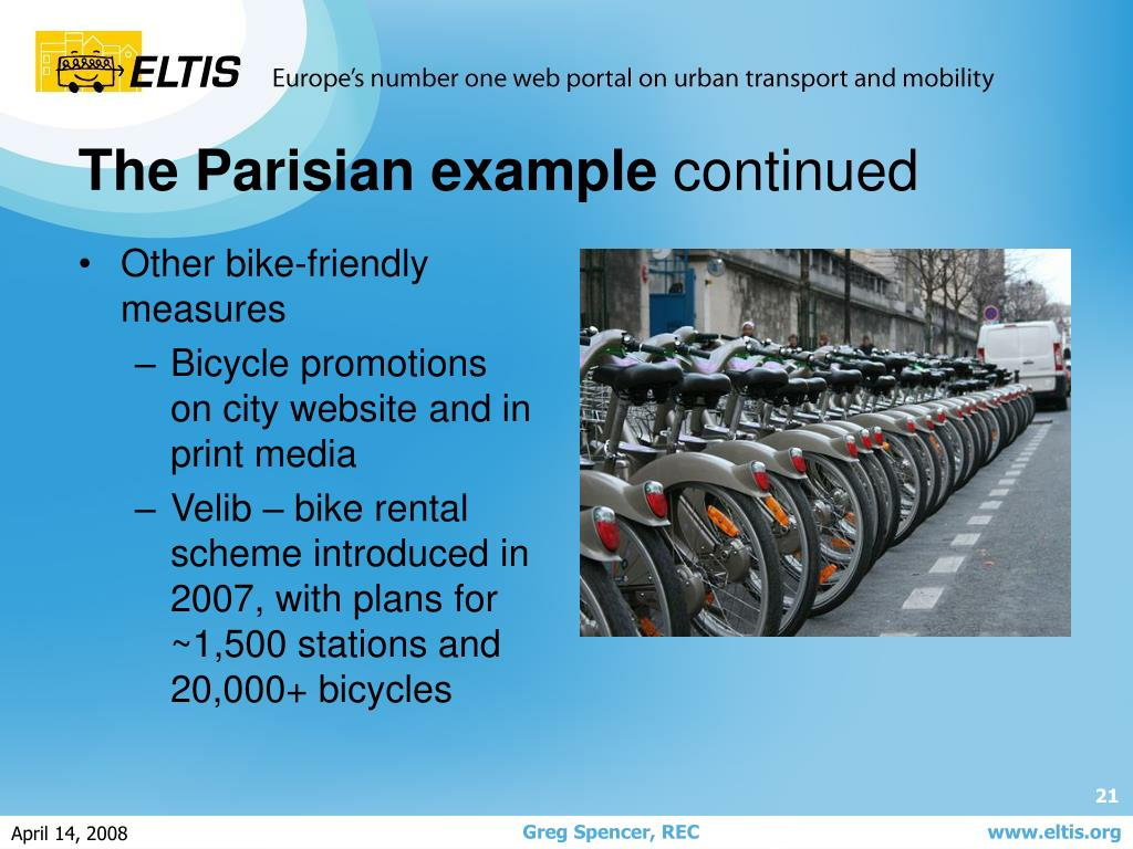 Other bike-friendly measures
