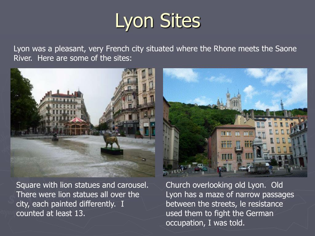 Lyon Sites