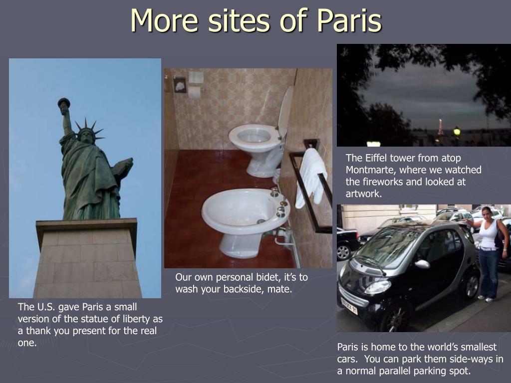 More sites of Paris